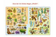 Ravensburger 32679 WWW Stickerheft: Pferde