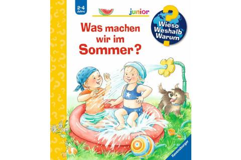 Ravensburger WWW Junior: Was machen wir im Sommer?