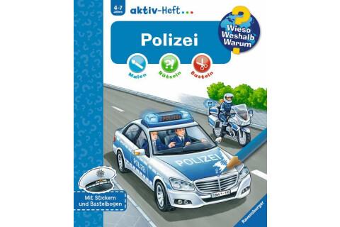 Ravensburger 32686 WWW aktiv-Heft Polizei