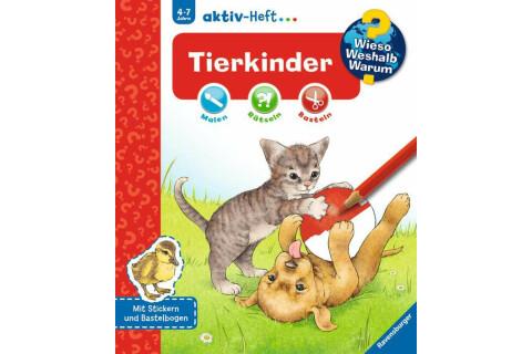 Ravensburger 32693 WWW aktiv-Heft Tierkinder