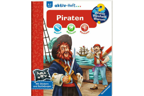 Ravensburger 32694 WWW aktiv-Heft Piraten