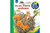 Ravensburger WWW Junior: Wo die Tiere wohnen
