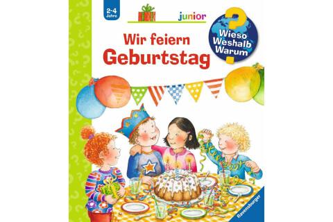 Ravensburger WWW Junior: Wir feiern Geburtstag