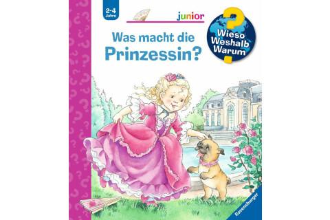 Ravensburger WWW Junior: Was macht die Prinzessin?