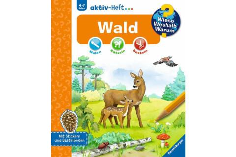 Ravensburger 32973 WWW aktiv-Heft Wald