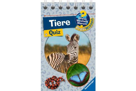 Ravensburger 32976 WWW ProfiWissen Quiz Tiere