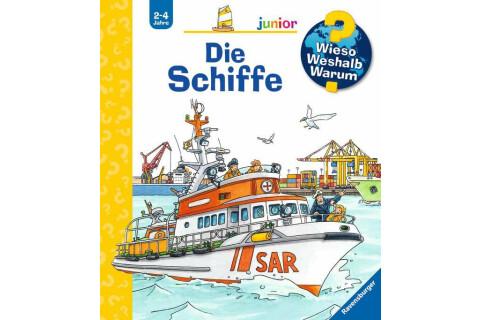 Ravensburger WWW Junior: Die Schiffe