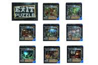 Ravensburger EXIT Puzzles mit Rätseln (zum...