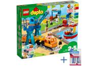 LEGO® DUPLO® 10875 Güterzug + Gratis Batterien!
