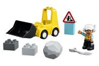 LEGO® 10930 DUPLO Town Radlader, Baufahrzeug, Spielzeugset für Kleinkinder ab 2 Jahren