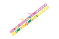 LEGO® 41910 DOTS Eiscreme Freundschaftsarmbänder, 2 x Kinderarmband, Kinderschmuck, Bastelset für Kinder
