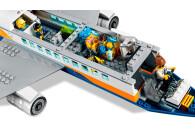 LEGO® 60262 City Passagierflugzeug mit Flughafenterminal und LKW, Spielset für Kinder ab 6 Jahren