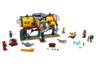 LEGO® 60265 City Meeresforschungsbasis, U-Boot-Spielzeug mit Figuren von Meerestieren, tolles Geschenk für Kinder ab 6 Jahre
