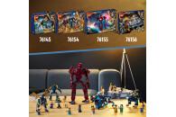 LEGO® 76145 Marvel Luftangriff Der Eternals, Superhelden-Spielzeug für Kinder ab 7 Jahren, mit Deviant-Actionfiguren