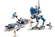 LEGO® 75280 Star Wars Clone Troopers der 501. Legion, Bauset mit Kampfdroiden und AT-RT Walker