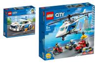 LEGO® City 2er Set: 60239 Streifenwagen + 60243...