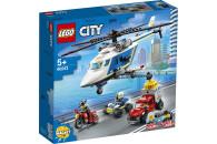 LEGO® City 2er Set: 60239 Streifenwagen + 60243 Verfolgungsjagd mit dem Polizeihubschrauber