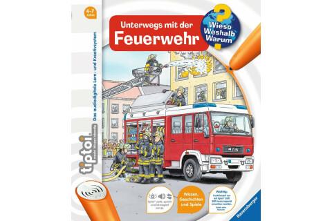 tiptoi® WWW Buch Feuerwehr (Band 6)