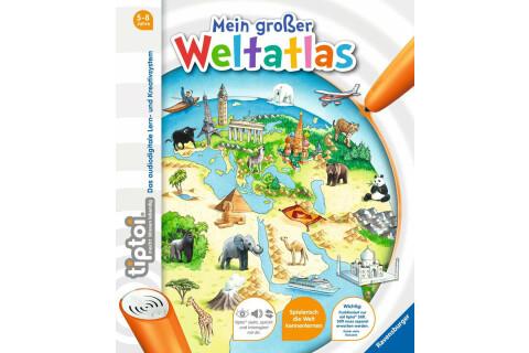 tiptoi® WWW Buch Mein großer Weltatlas