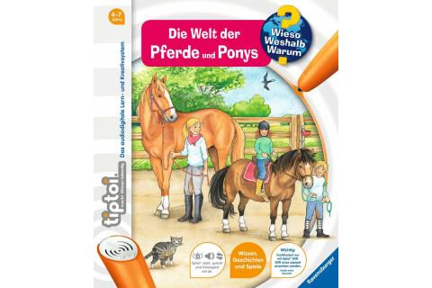 tiptoi® WWW Buch Die Welt der Pferde und Ponys