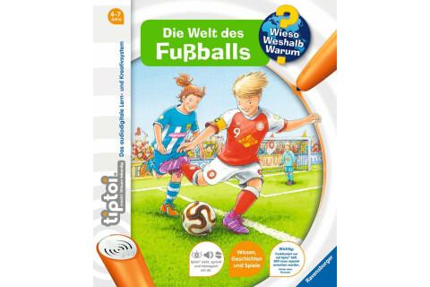 tiptoi® WWW Buch Die Welt des Fußballs (Band 21)