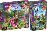 LEGO® Friends 2er Set: 41422 Panda-Rettungsstation +...