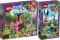 LEGO® Friends 2er Set: 41422 Panda-Rettungsstation + 41423 Tiger-Rettung mit Heißluftballon