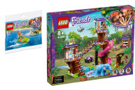 LEGO® Friends 2er Set: 30410 Mias Schildkröten-Rettung + 41424 Tierrettungsstation im Dschungel