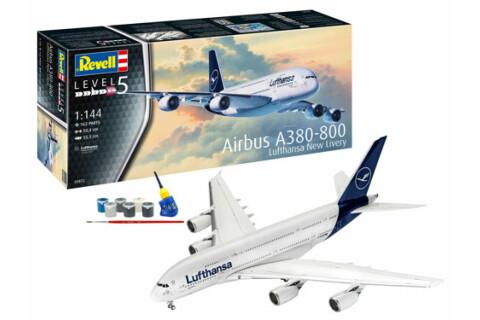 REVELL 03872EX Airbus A380-800 Lufthansa-Bundle 1:144