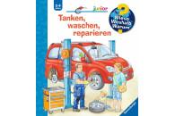 Ravensburger WWW Junior: Tanken, waschen, reparieren