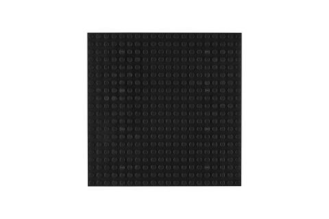 OBS Platte 20x20 Schwarz (4er Pack)