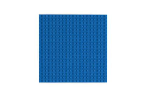 OBS Platte 20x20  Blau (4er Pack)