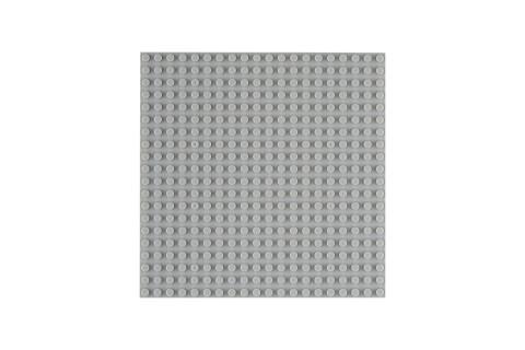 OBS Platte 20x20 Hellgrau (4er Pack)