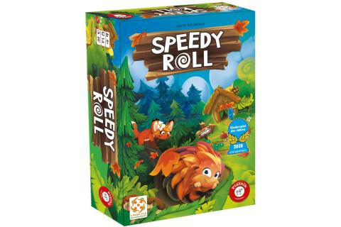 Speedy Roll Familienspiel für 1-4 Spieler ab 4 Jahren