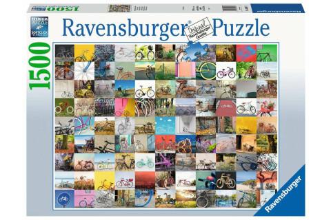 Ravensburger 1500 Teile Puzzle: 99 Fahrräder und mehr