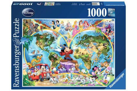 Disneys Weltkarte