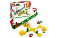 LEGO® Super Mario 2er Set: 71364 Wummps Lava-Ärger - Erweiterungsset + 71365 Piranha-Pflanze-Powerwippe - Erweiterungsset