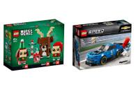 LEGO® 2er Set: BrickHeadz 40353 Rentier und Elfen +...