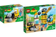 LEGO® DUPLO® Town 2er Set: 10930 Radlader + 10932...