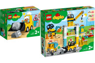 LEGO® DUPLO® Town 2er Set: 10930 Radlader + 10933...