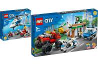 LEGO® City 2er Set: 60243 Verfolgungsjagd mit dem...