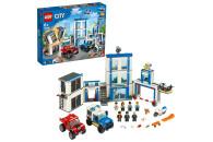 LEGO® City 2er Set: 60244 Polizeihubschrauber-Transport + 60246 Polizeistation