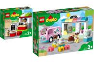 LEGO® DUPLO® 2er Set: 10927 Pizza-Stand + 10928...