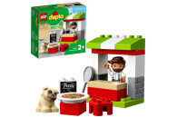 LEGO® DUPLO® 2er Set: 10927 Pizza-Stand + 10928 Tortenbäckerei