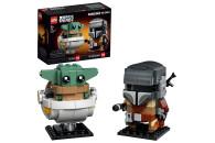 LEGO® 2er Set: BrickHeadz 40353 Rentier und Elfen + Star Wars™ 75317 Der Mandalorianer™ und das Kind