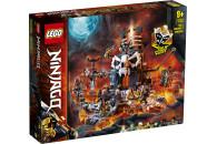 LEGO® NINJAGO® 2er Set: 71720 Feuer-Stein-Mech + 71722 Verlies des Totenkopfmagiers