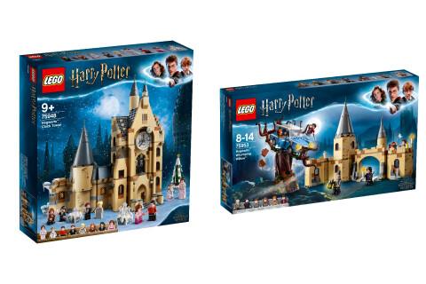 LEGO® Harry Potter™ 2er Set: 75948 Hogwarts™ Uhrenturm + 75953 Die Peitschende Weide von Hogwarts™