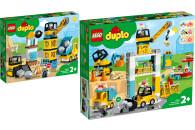 LEGO® DUPLO® Town 2er Set: 10932 Baustelle mit...