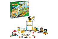 LEGO® DUPLO® 2er Set: 2304 Große Bauplatte grün + Town 10933 Große Baustelle mit Licht und Ton