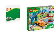 LEGO® DUPLO® 2er Set: 2304 Große Bauplatte...
